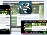 SimDif Website Builder op iOS